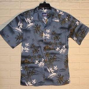NWT Blue Hawaiian Shirt Size Medium
